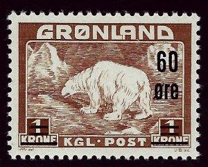 Greenland #40 Mint F-VF SCV$67.50 Popular Country!