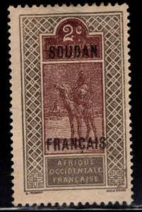 French Sudan Scott 22 MH* expect similar centering