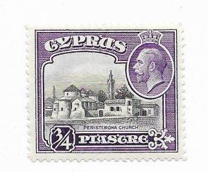 Cyprus #127 MH - Stamp - CAT VALUE $3.50