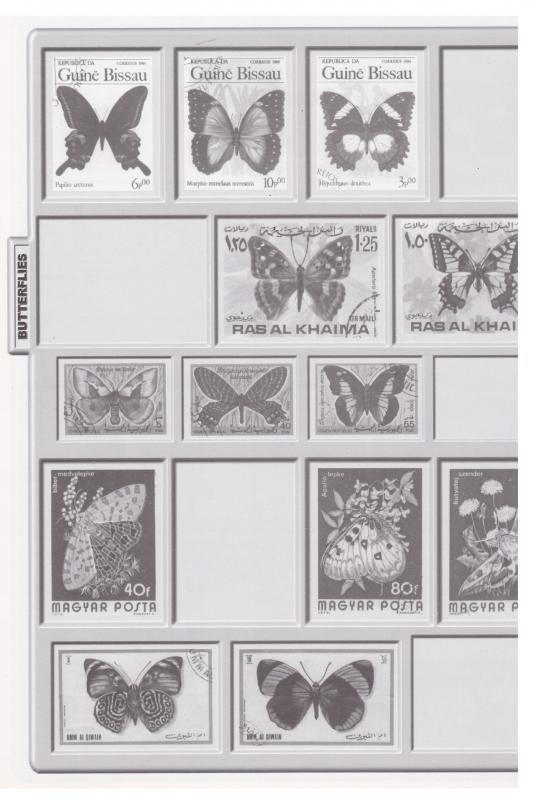 ODYSSEY TOPICAL ILLUSTRATED STAMP ALBUM WITH FREE STAMP PACKET
