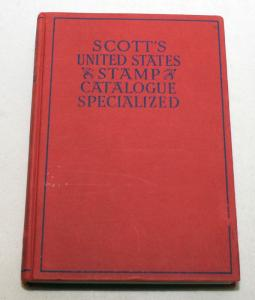 1949 SCOTT'S CATALOGUE UNITED States Stamps Specialized Hardcover 550+ Pages