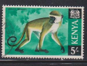 KENYA Scott # 33 Used - Vervet Monkey