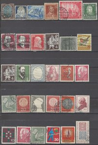 COLLECTION LOT OF #1223 GERMANY 30 STAMPS 1919+ CLEARANCE CV+$26