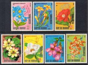 Equatorial Guinea Asian Flowers MNH VF