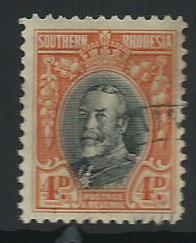 Southern Rhodesia SG 19a  VFU perf 11 ½