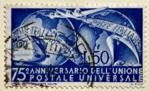 AlexStamps ITALY #514 VF Used