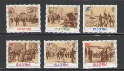 Isle of Man Sc 321-6 1987 Victoria stamps used