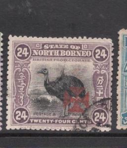 North Borneo SG 200 VFU (6deh)