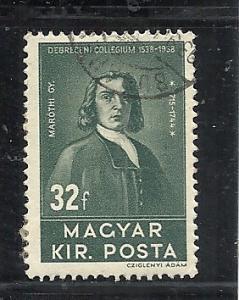 Hungary #533 used cv $.75