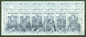 New Zealand Scott 1003 British Royalty 150th Anniversary Souvenir Sheet