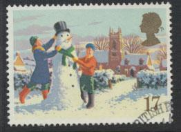 GB SG 1526 SC# 1340 - Used First Day Cancel - Christmas