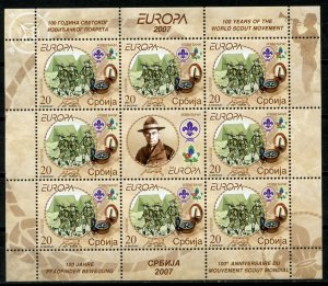 SERBIA -  SCOUTING 100TH ANNIVERSARY  S483