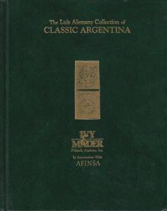 The Luis Alemany Collection of Classic Argentina, 1998 Ivy & Mader Auction Catal