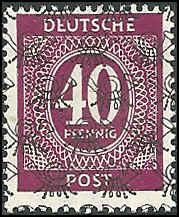 Germany - 595A - Unused - SCV-27.50