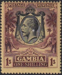 Gambia 1929 SC 113a NH
