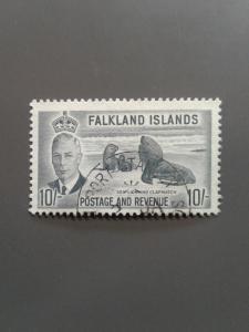 Falkland Islands 119 F-VF Used. Scott $ 19.00