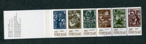 Faroe Islands #120a Complete Booklet MNH