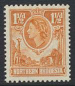 Northern Rhodesia  SG 63  SC# 63 MLH  see detail and scan