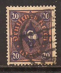 Germany  #  182  used