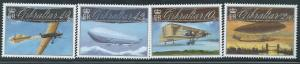Gibraltar Wholesale - 10 sets Aviation Centenaries - Scott #1239-42
