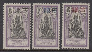 French India 50-3 mint