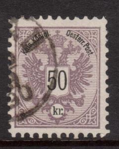 Austria #46 VF Used