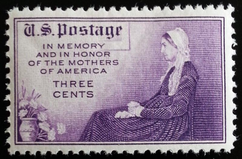 1934 3c Mothers Day, Whistler's Mother Scott 738 Mint F/VF NH