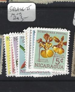 NICARAGUA  (P0701B)   FLOWERS  SC RA66-75   MOG