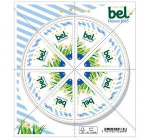 2021 France The Bel Group Food Company MS8  (Scott NA) MNH