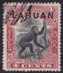 Labuan #97A Useed
