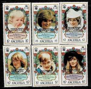 Anguilla 1984 Birth of Prince Henry MNH