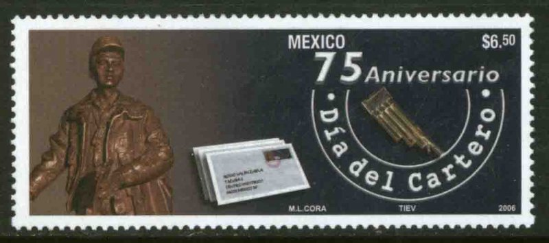 MEXICO 2530, POSTAL EMPLOYEE AND LETTER CARRIERS DAY. MINT, NH. F-VF.