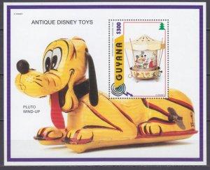 1996 Guyana 5655/B517 Disney - Carousel