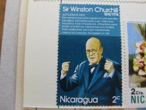 Nicaragua 1974 2c fine mh* stamp A11P11F62