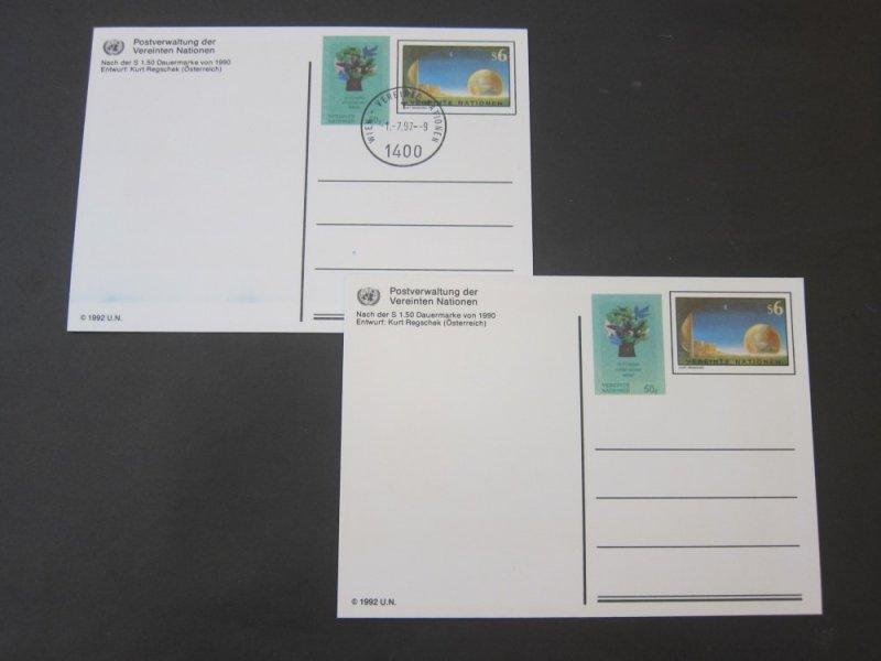 United Nations (Vienna) 2 PC mint