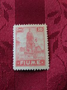 Fiume 30a XFMH, CV $25