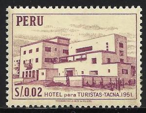 Peru 1953 Scott# 457 MNH