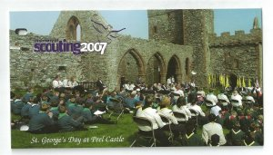 2007 Isle of Man Scout Centenary presentation pack