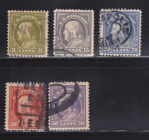 United States 414, 418-421 U Benjamin Franklin