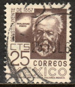 MEXICO 897A, 25c Cent of Constitution. Used. F-VF. (1096)