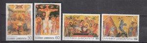 J26131  jlstamps 1994 greece set mnh #1780-3 designs religion