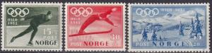 Norway #B50-2  F-VF Unused  CV $21.75 (A18766)