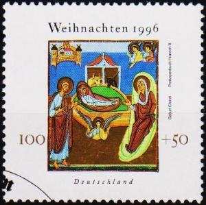 Germany. 1996 100pf+50pf S.G.2749 Fine Used