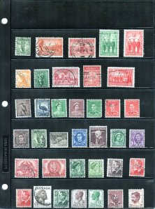 Australian Collection - About 130 Stamps - SCV $65.00