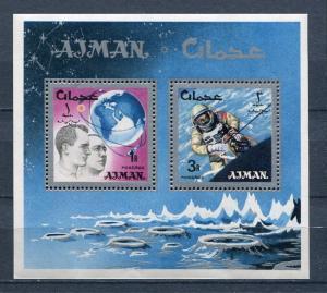Ajman Souvenir Sheet Space  MNH h2149hs
