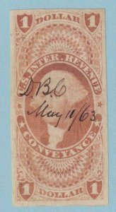 UNITED STATES R66a REVENUE STAMP  USED - NO FAULTS VERY FINE!