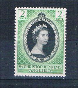 St Kitts-Nevis 119 MNH Coronation Issue 1953 (S0889)