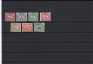 madagascar mounted mint postage due  stamps ref r11691