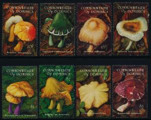 Dominica 1657-64 MNH Mushrooms