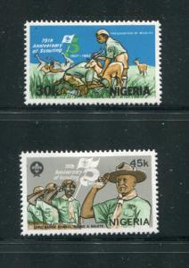 Nigeria #407-8 Mint